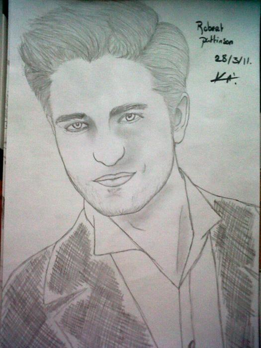 Robert Pattinson by Kellytwi